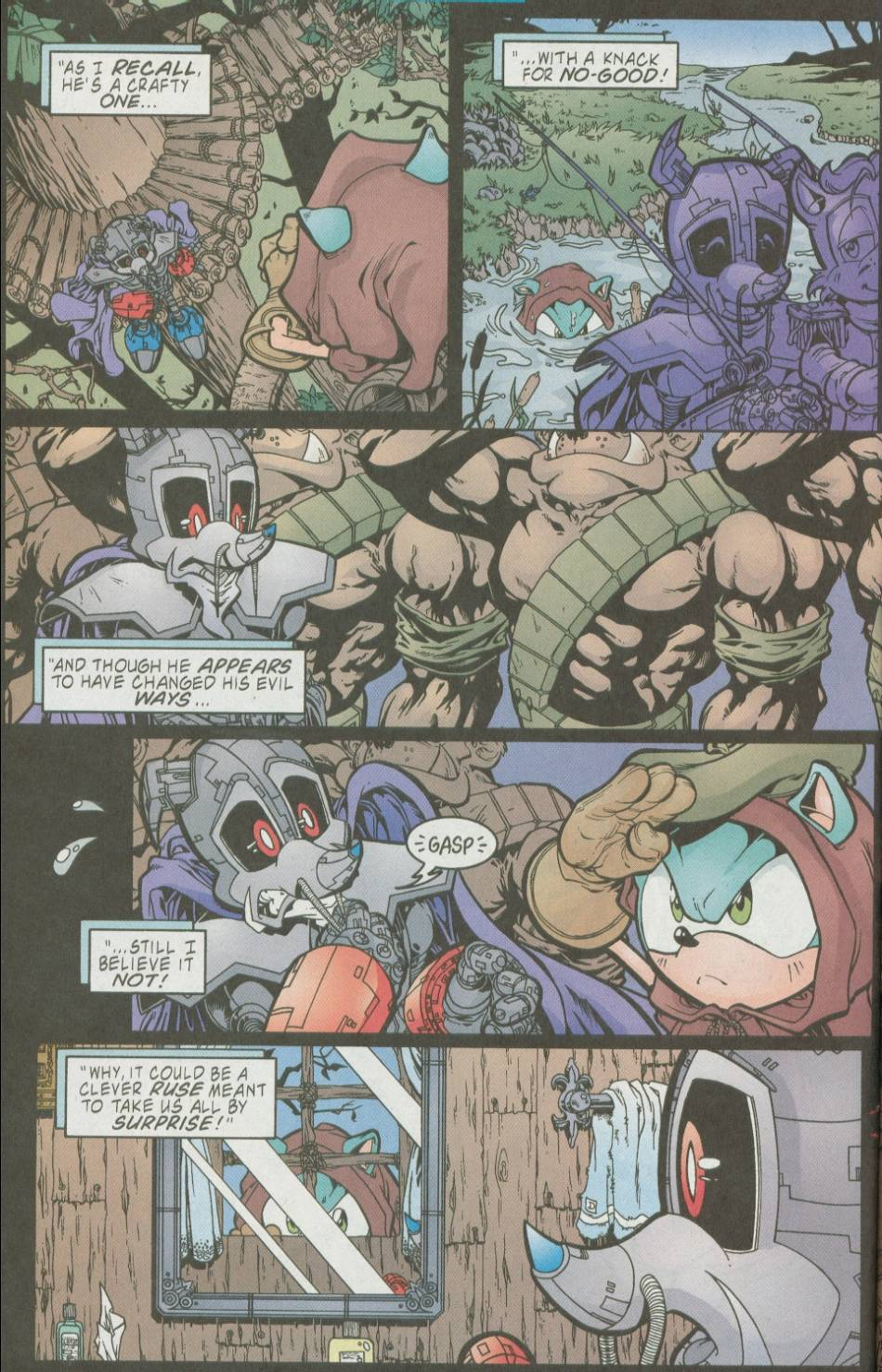 Read online Sonic The Hedgehog comic -  Issue #111 - 16