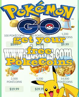 Cara Paling Gampang Mendapatkan PokeCoins Gratis Di Pokemon Go