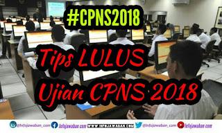 tips lulus ujian cpns