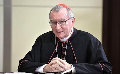 Vatican Secretary of State Cardinal Pietro Parolin.