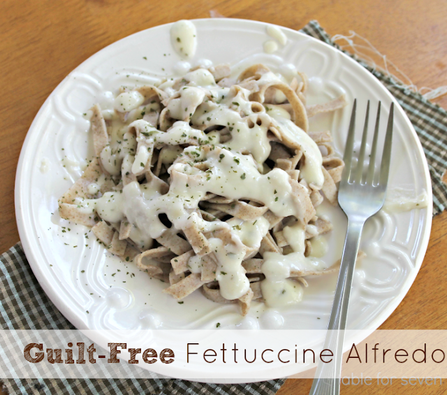 Guilt-Free Fettuccine Alfredo