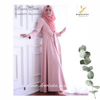 NUURA DRESS CHERRY BLOSSOM