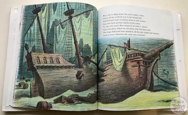 Kermit the Hermit by Bill Peet sunken ship