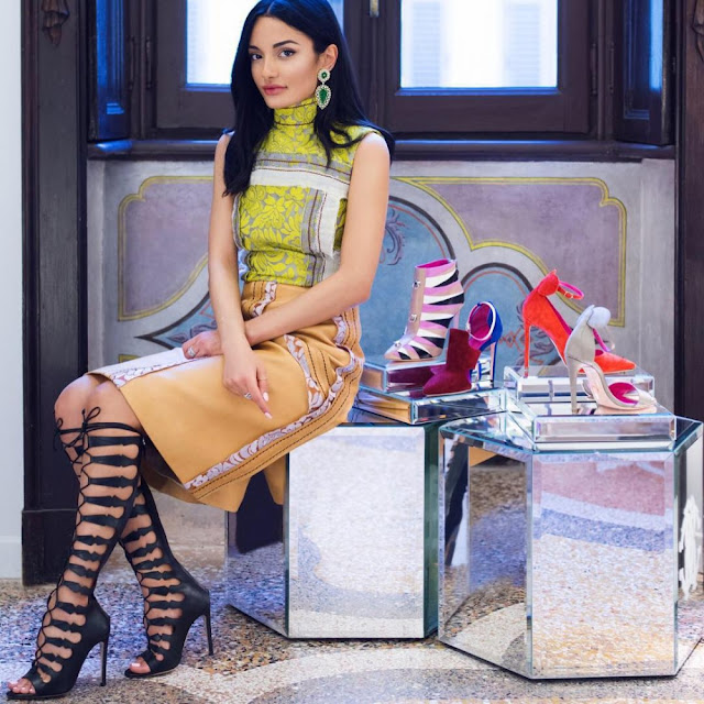 amina muaddi scarpe oscar tiye collezione primavera estate oscar tiye ss 2016 oscar tiye shoes collection scarpe estate 2016 sandali estate 2016 mariafelicia magno fashion blogger colorblock by felym fashion blog italiani fashion blogger italiane blogger italiane di moda