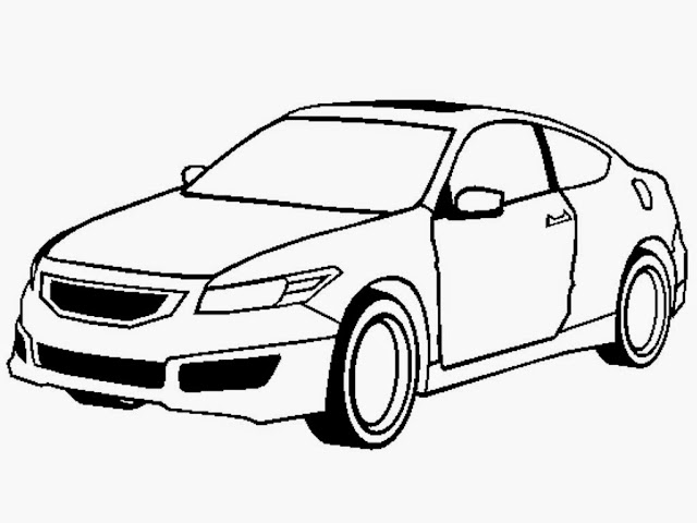 Honda Accord Coupe Mugen Coloring Pages