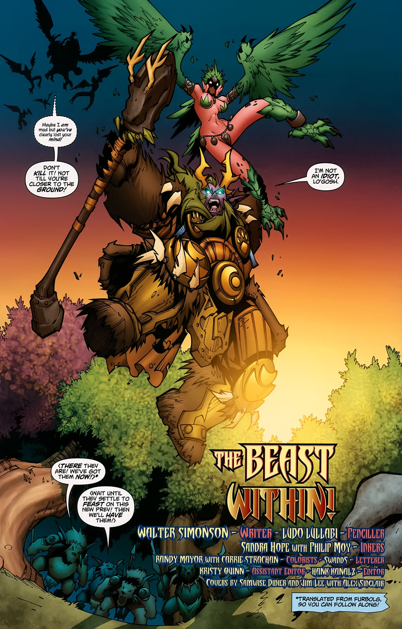 Read online World of Warcraft comic -  Issue #5 - 3