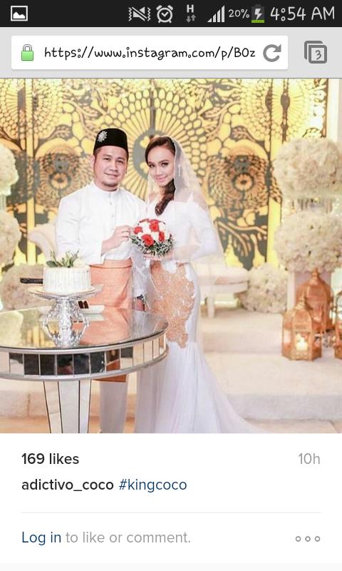 King Coco Berkahwin Dengan Kapt Azrin