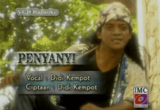 Lirik Lagu Penyanyi - Didi Kempot