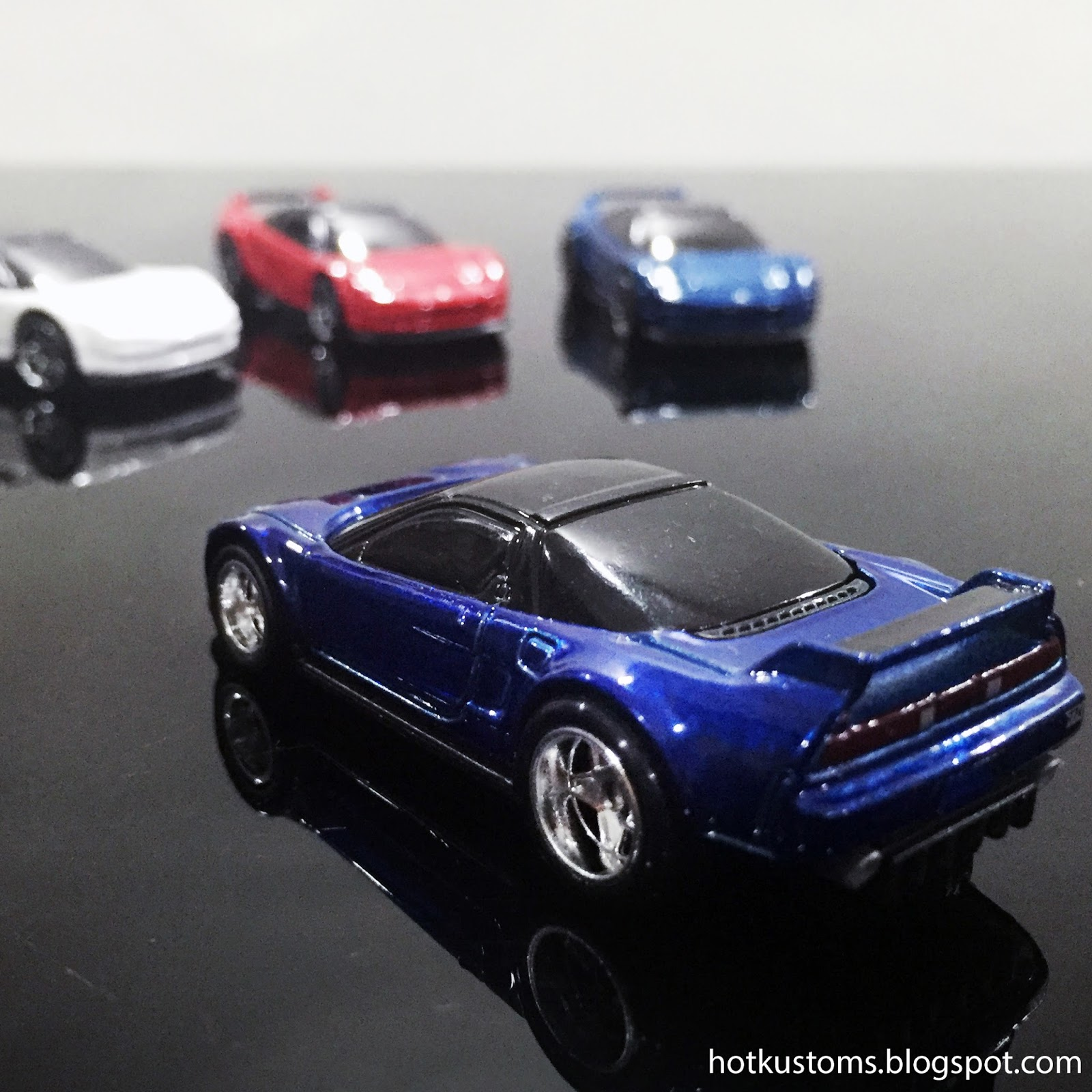 Hot Kustoms Mini Cars: 2016 '90 Acura NSX Super Treasure Hunt