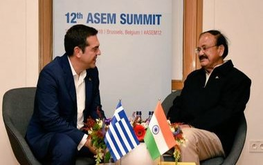 Vice President M Venkaiah Naidu to visit Brussels for 12th ASEM summit