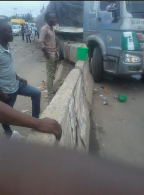 More photos of the accident involving Danku and Rayce