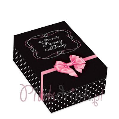 Jak zapakować prezent na panieński? Efektowne pudełko dla Panny Młodej