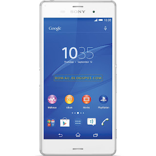 Firmware Sony Xperia Z3 D6603 Tested (FTF File)