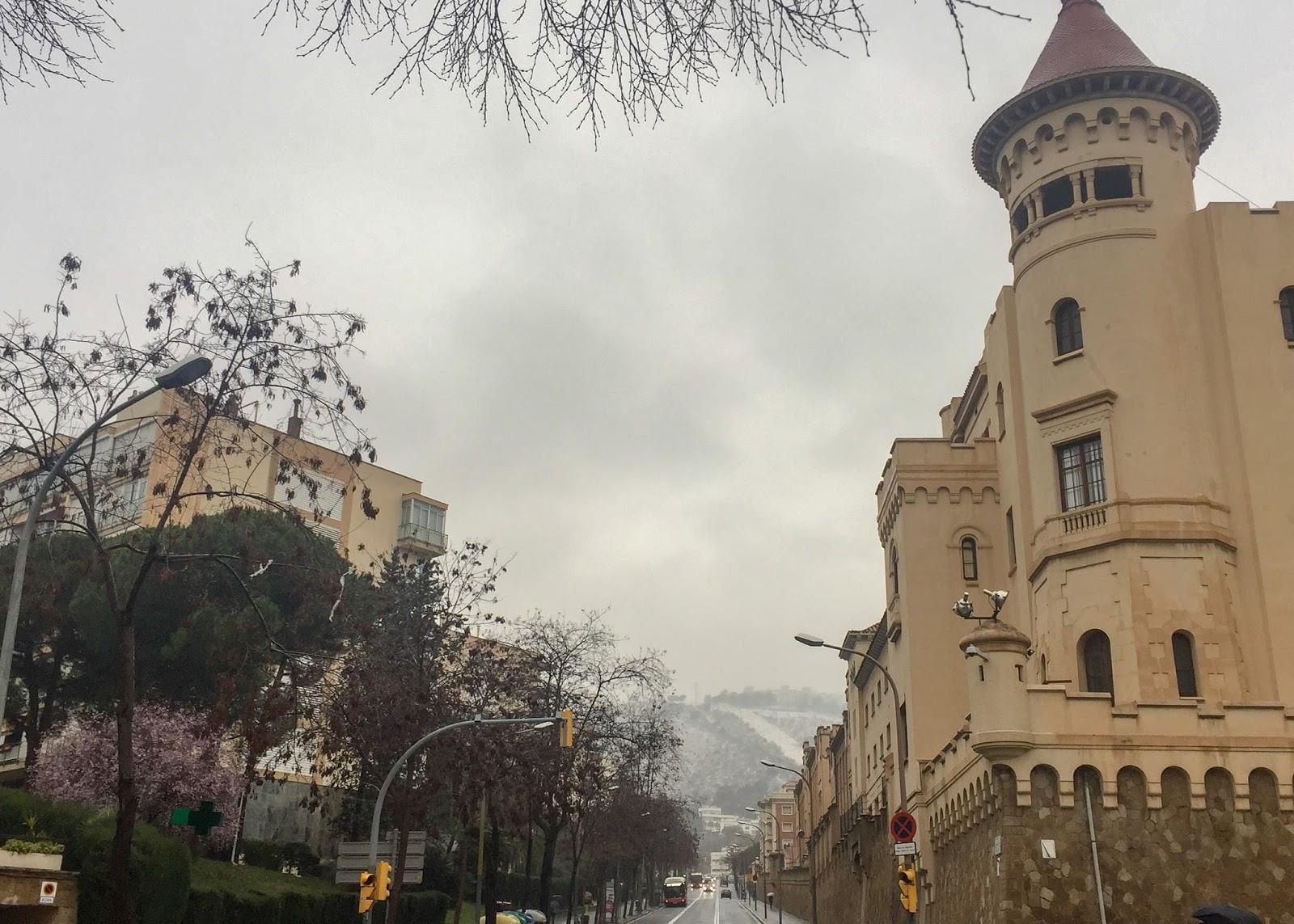 Zima w Barcelonie!