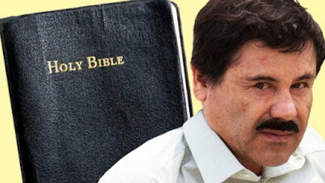 """Este es el irracional temor de los Federales a """"Al Chapo"""" por el cual le negarón la Biblia en la cárcel"""