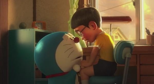 Gambar DP BBM Doraemon Lucu Bergerak