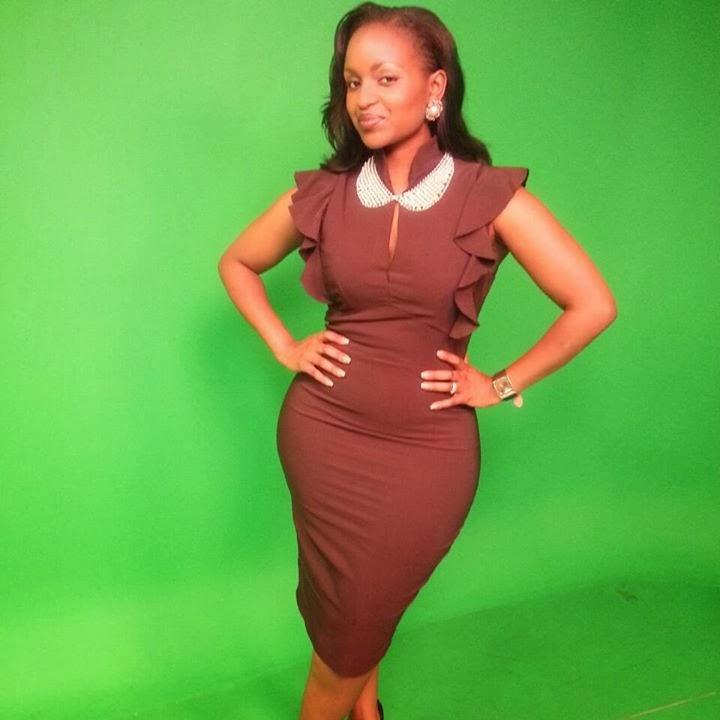 HOT KENYAN VIBES: KISS TV Presenter GRACE MSALAME