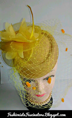 Beige gold fascinator hats for sale in Kenya