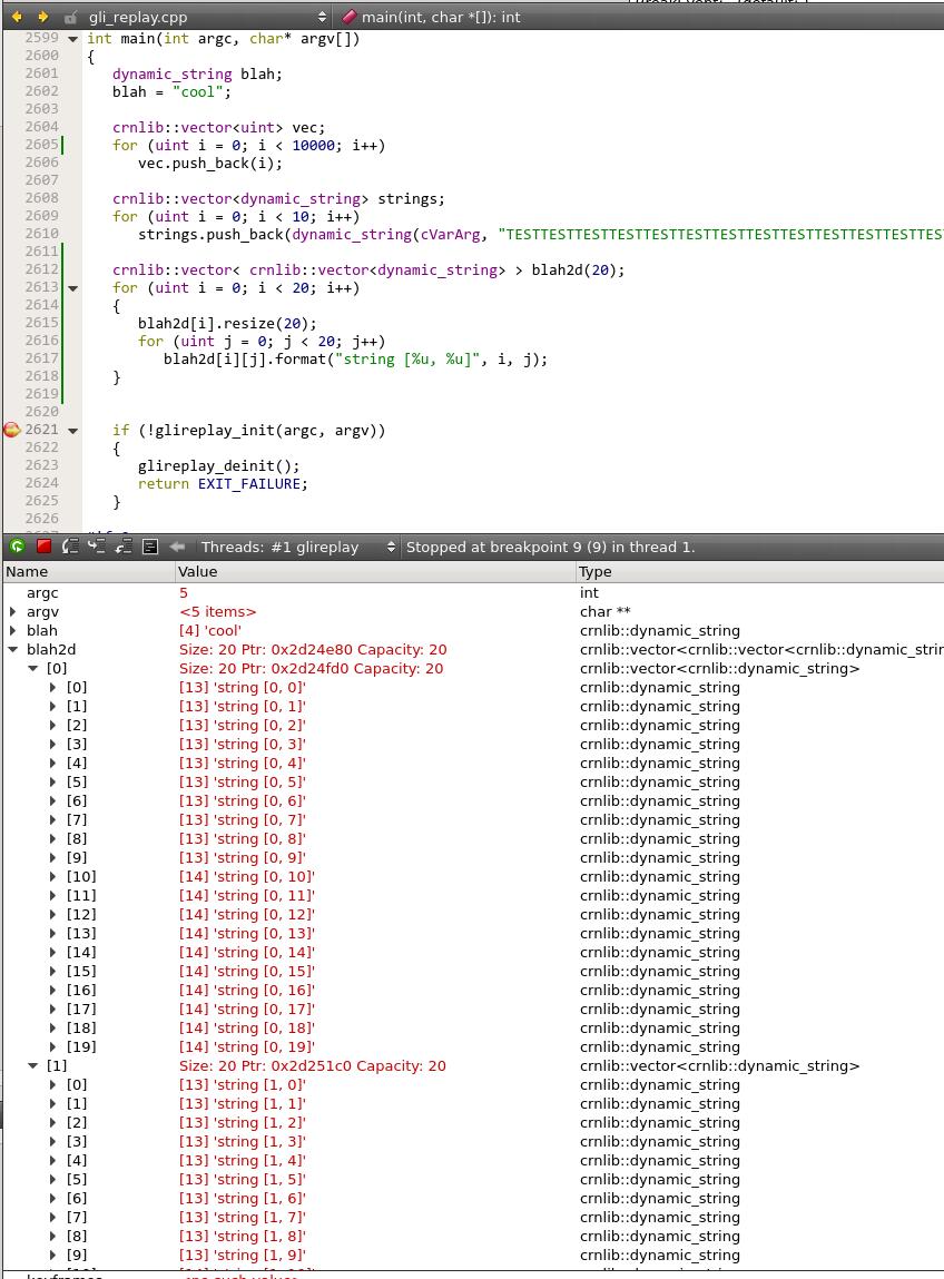 Rich Geldreich's Tech Blog: QtCreator's Python Debug Visualizers