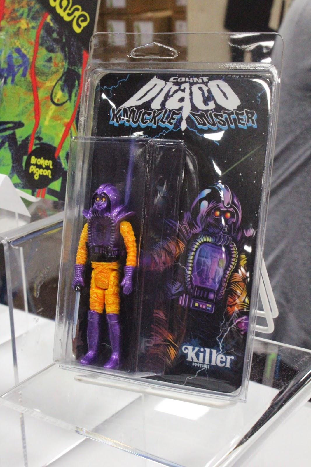 Angry Koala Gear: DKE Toys Booth at San Diego Comic Con 2014