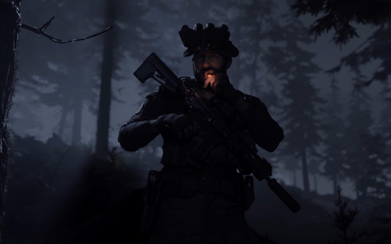 Call of Duty: Modern Warfare, Captain Price, Smoking, 4K ...
