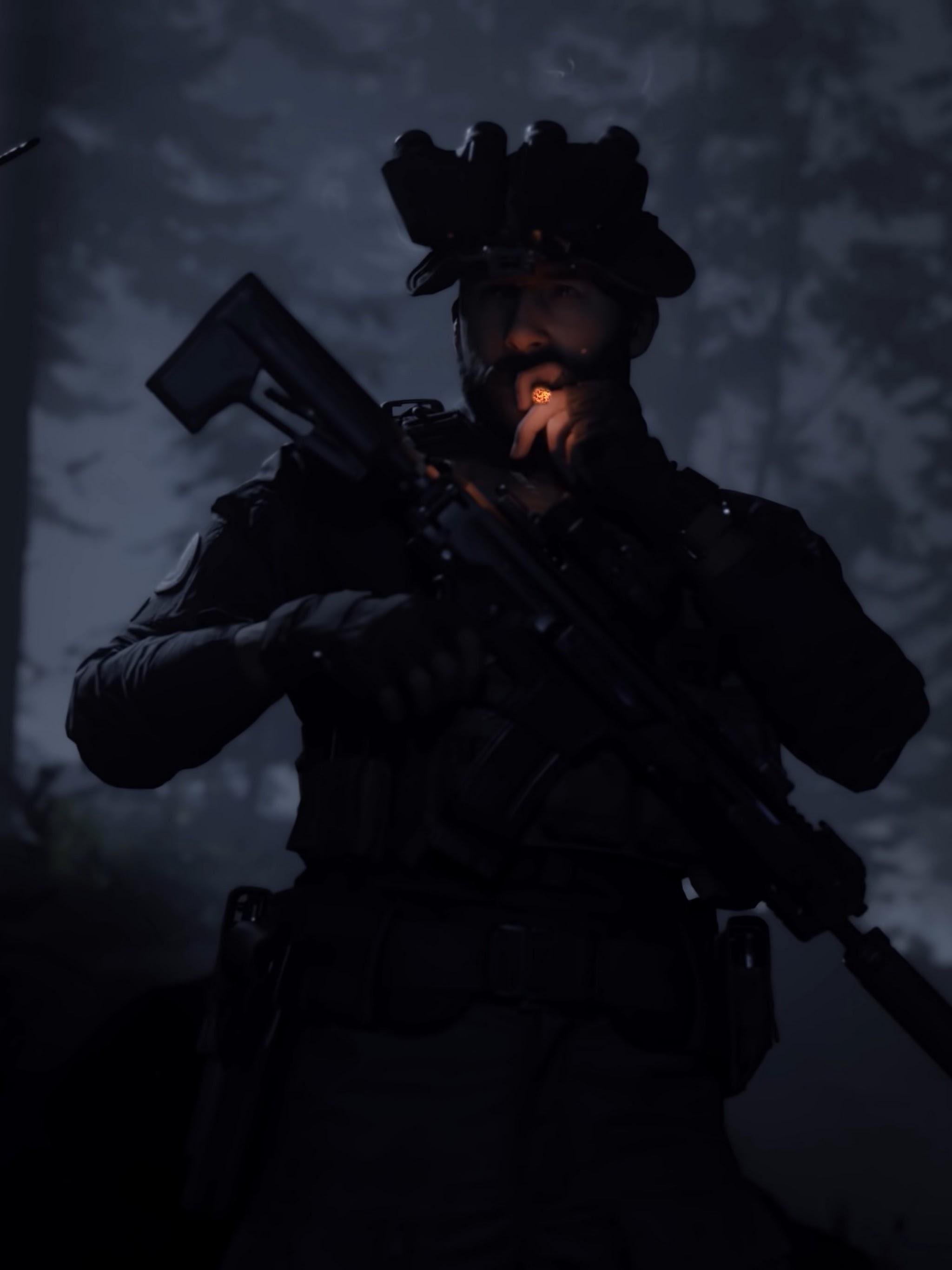Call Of Duty Modern Warfare Captain Price Smoking 4k Wallpaper 5
