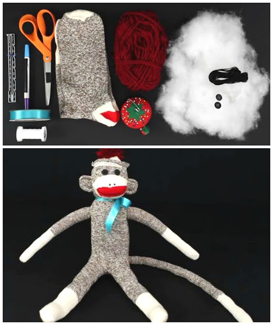 How To Make A Classic Sock Monkey Diy Handy Homemade