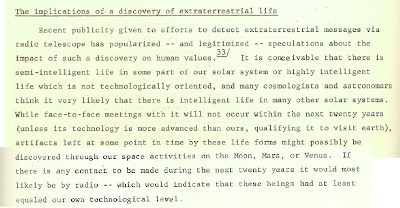 The Implications of a Discovery of Extraterrestrial Life (Snippet)