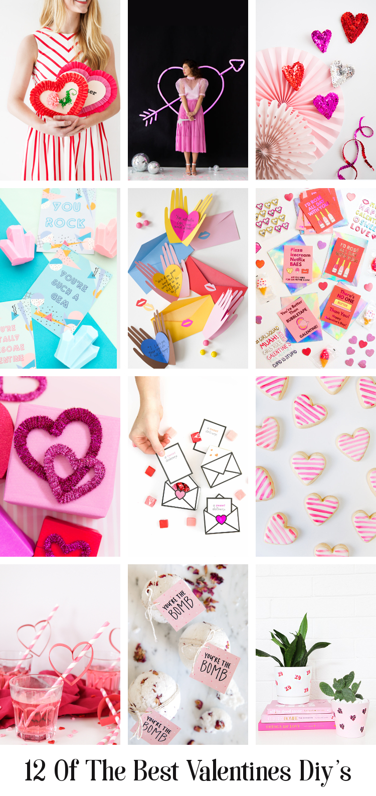 12 OF THE BEST VALENTINE'S DAY DIY'S.