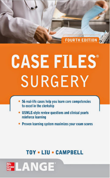 Case Files Surgery 4th Edition [EPUB]- Toy, Eugene