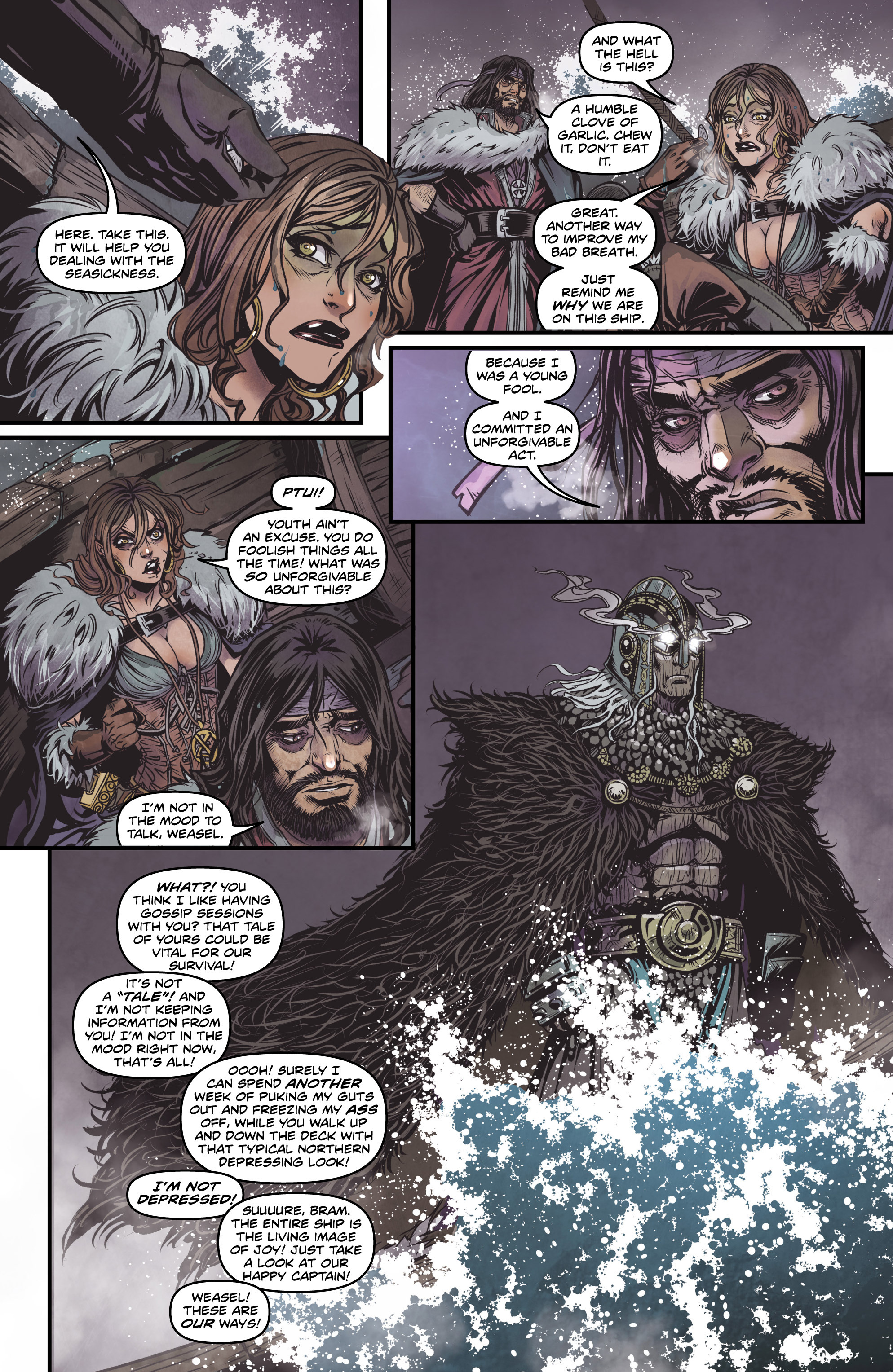 Read online Rogues! (2014) comic -  Issue #2 - 5