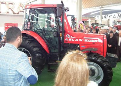 Lüleburgaz'da üretilen yeni traktör karşınızda