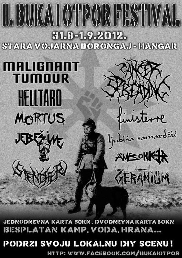 Hardcore Punk Buka I Otpor Festival 2012