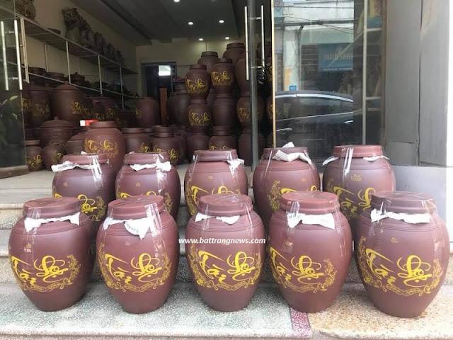Địa chỉ mua chum sành ngâm rượu Bát Tràng giá rẻ ở đâu tại Hà Nội