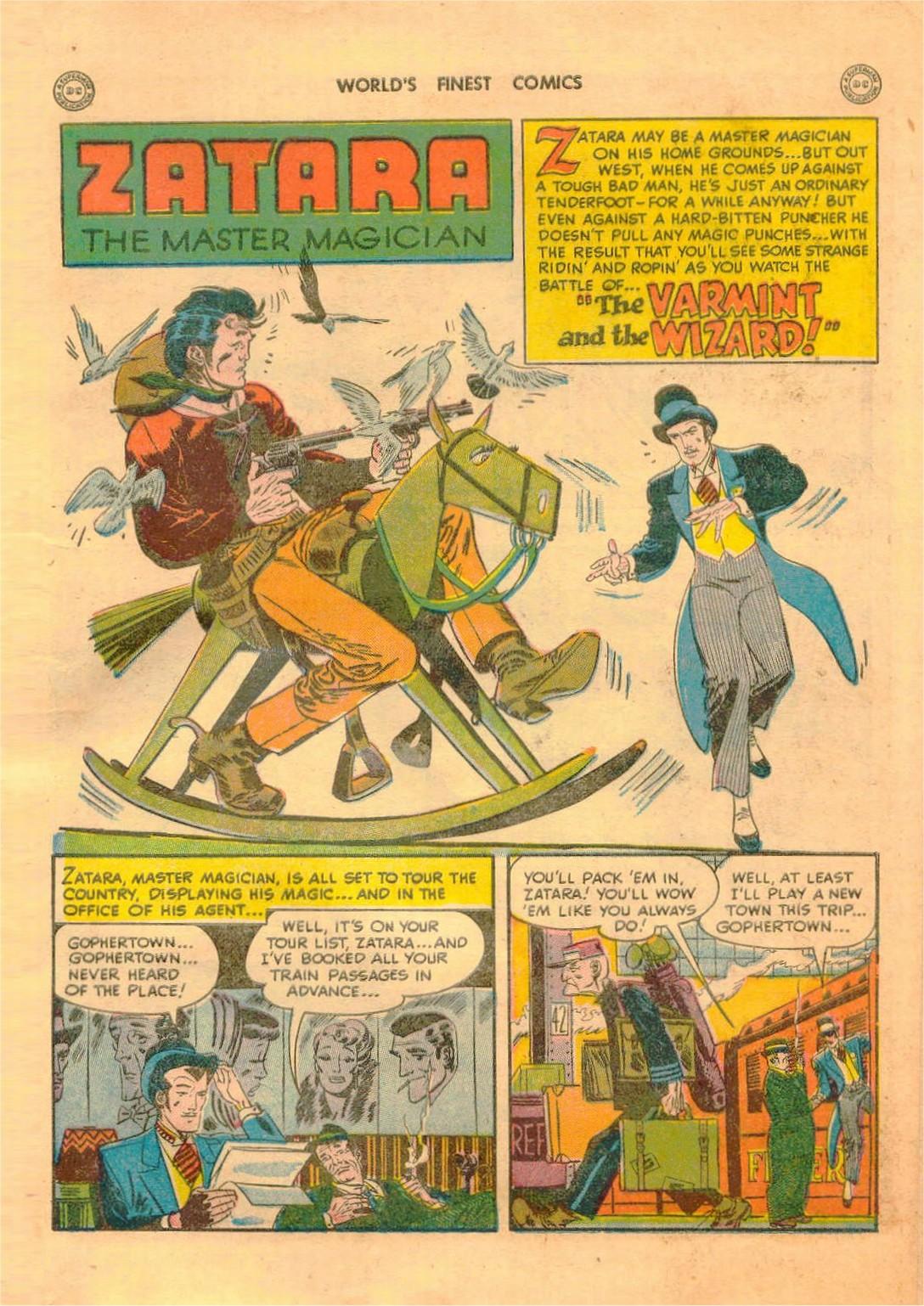 Read online World's Finest Comics comic -  Issue #42 - 53