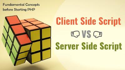 क्लाइंट साइड और सर्वर साइड के बीच अंतर difference between client side & server side