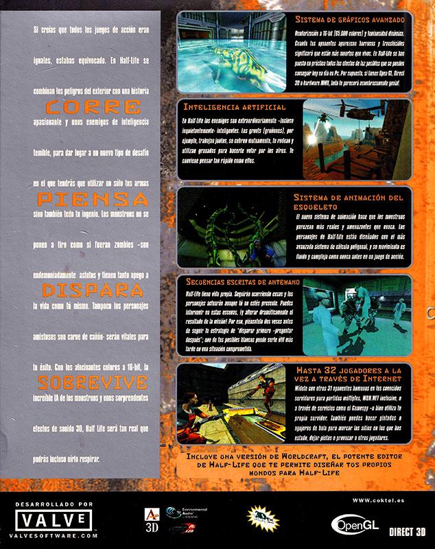 Half-Life Caja