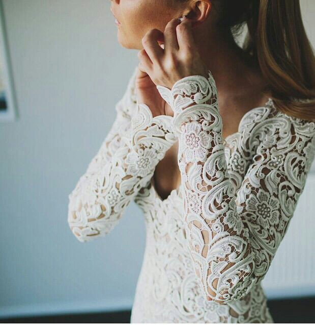 Laces Wedding Dress