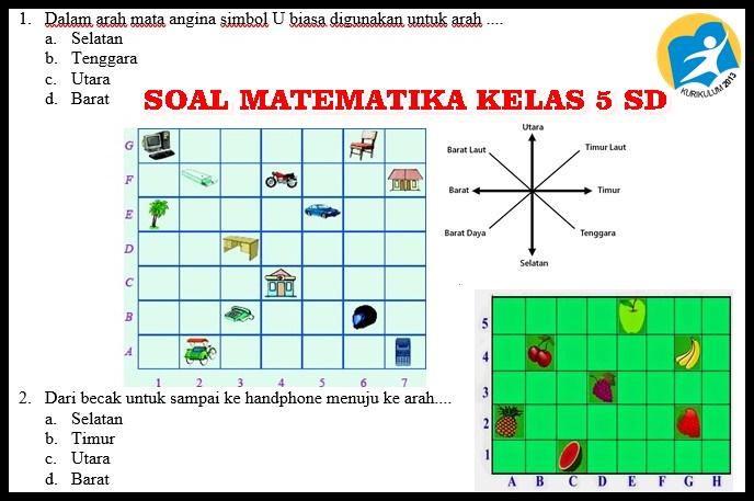 Kunci Jawaban Matematika Kelas 5 Semester 1 Kurikulum 2013