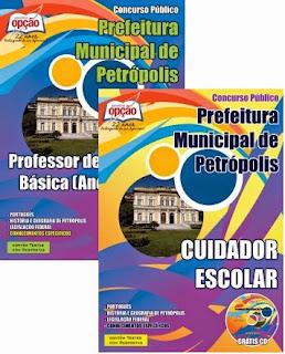 Apostila Prefeitura de Petrópolis - Cuidador Escolar e Professor