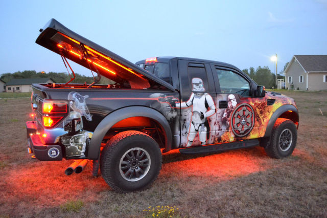 Hq Desktop Wallpapers Fan Wraps Ford Truck In Star Wars