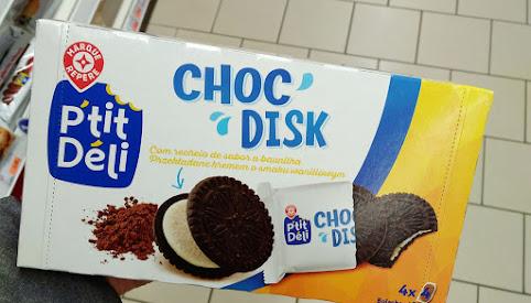 Ciastka Choc Disk, Leclerc