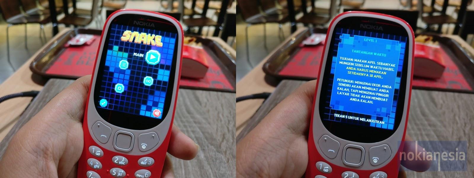 Hands On Review Nokia 3310 2017 Reborn Nokianesia Asha 310 Dual Sim Resmi White Dan Yang Pasti Satu Permainan Eksklusif Di Snake Dibuat Oleh Gameloft Diberi Sentuhan Modern Dengan Mode