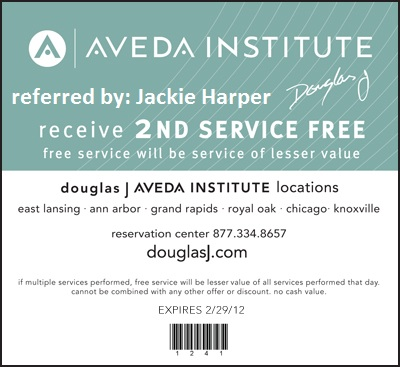aveda coupons for haircut free is my bogo free spa or hair services at 3820
