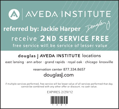 aveda coupons for haircut free is my bogo free spa or hair services at 3820 | douglasJ2ndfree