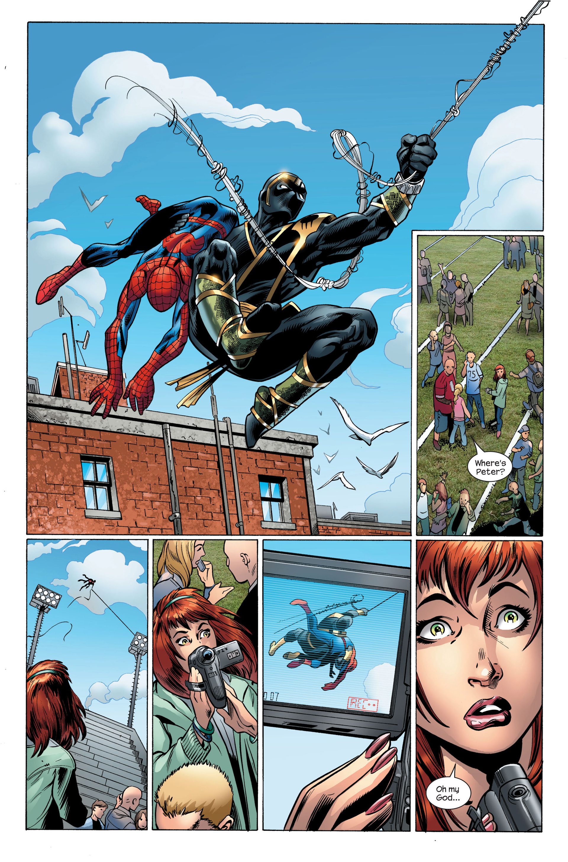 Read online Ultimate Spider-Man (2000) comic -  Issue #108 - 23