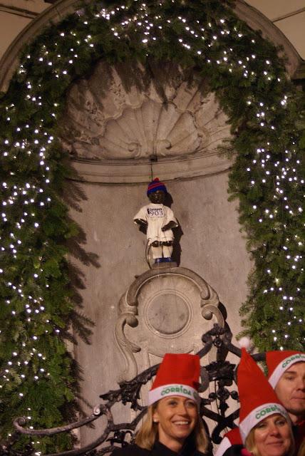 Brussels Manneken Pis Christmas