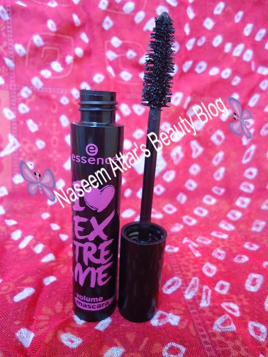 Essence i love extreme volume mascara review ~ Naseem Attar's Beauty Blog