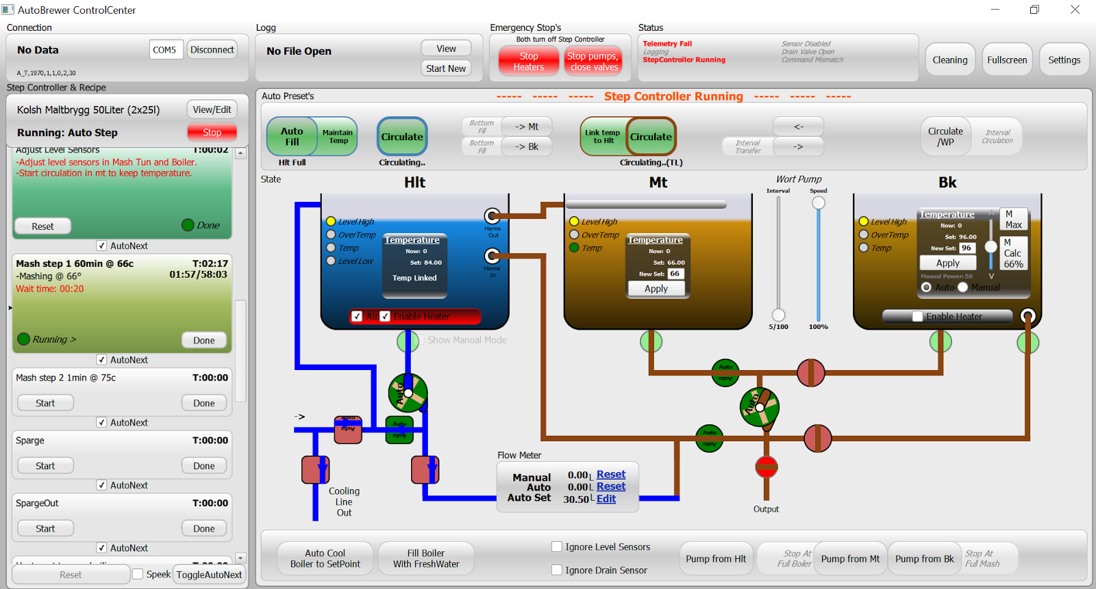 AutoBrewer - Automatic Brewing Software | AutoBrewer - Automatic