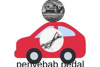 6 penyebab rem pedal keras dan tidak bekerja dengan baik